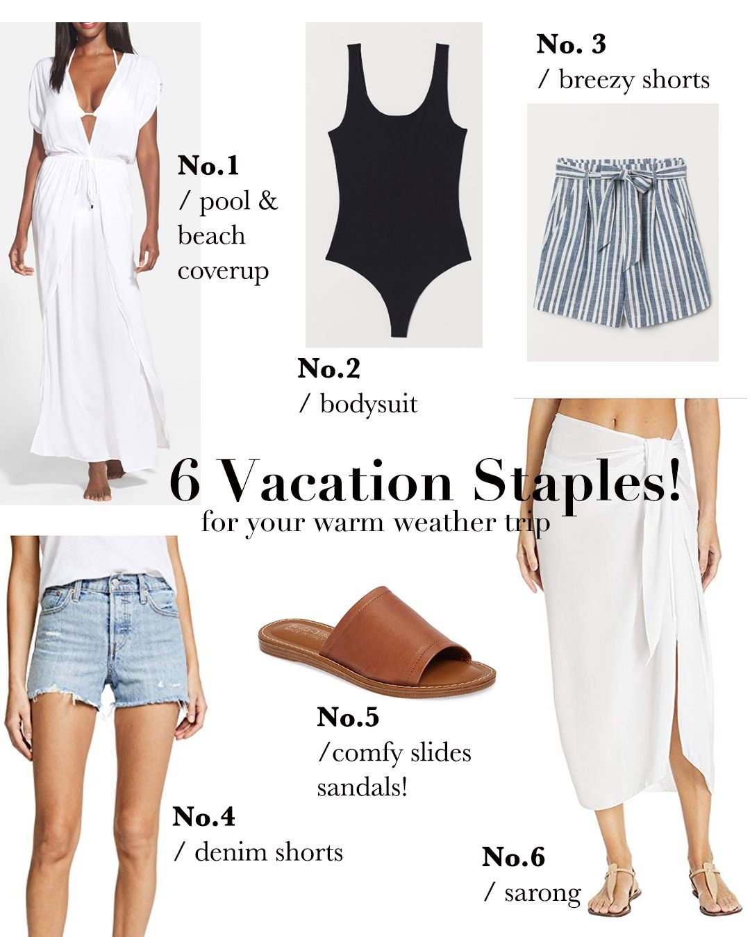 6 Classic Vacation Essentials — Girl Meets Gold