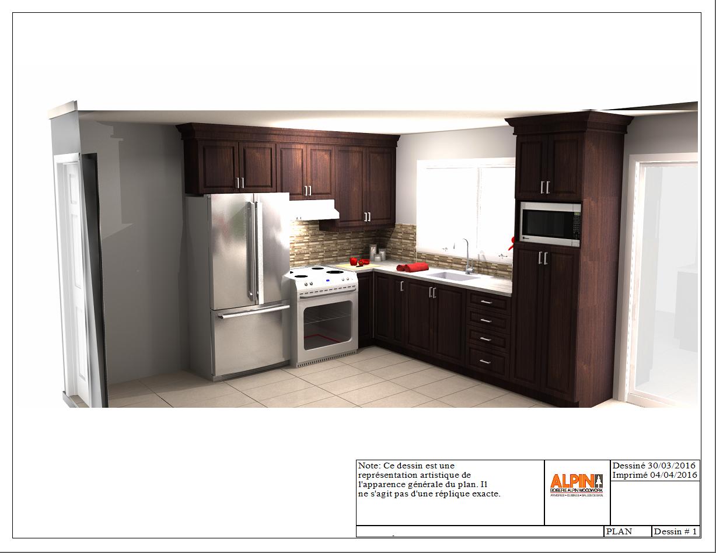 Kitchen Design 3D Concept  Cuisine Alpin  3D Concept Alpin Stunning Kitchen Design Concept Design Inspiration