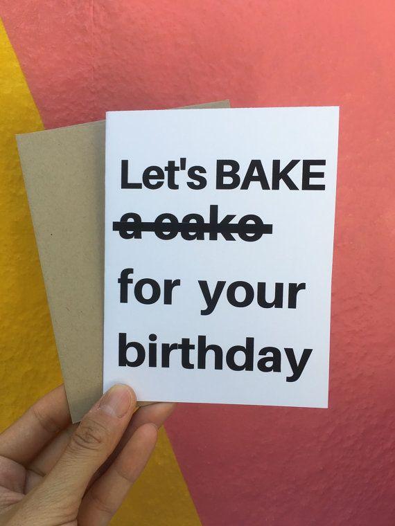 Birthday Card Funny Birthday Card Happy Birthday Card Witty