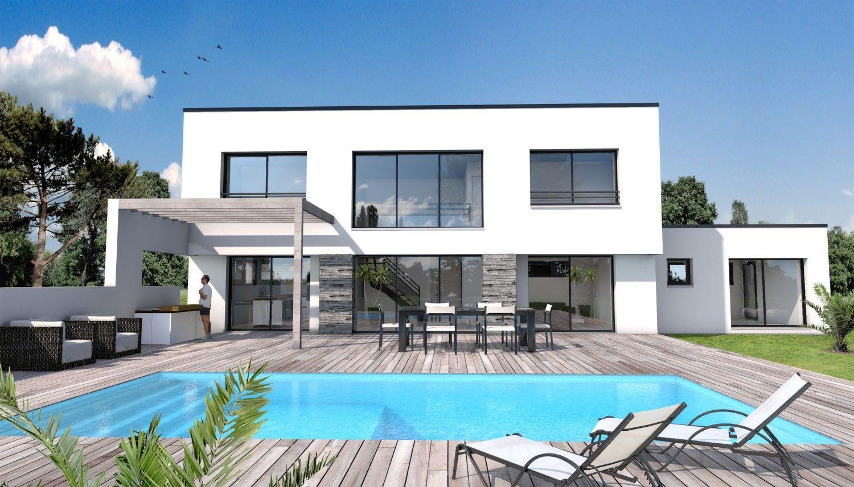 Maison moderne angle 85 id es pour la maison pinterest for Constructeur de maison moderne