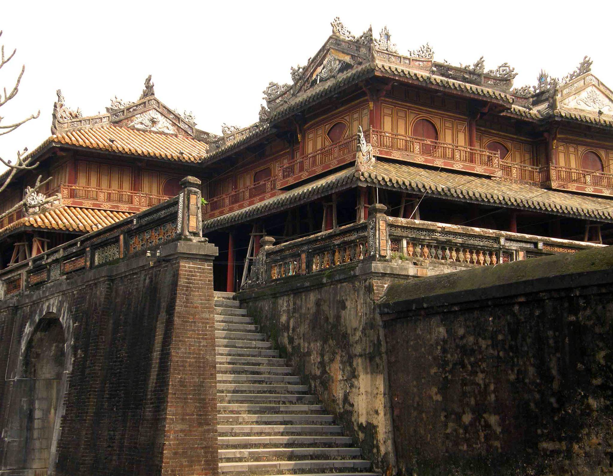 The Citadel Imperial City Forbidden Purple City Hue Vietnam Beautiful Vietnam Ancient Vietnam Vietnam History