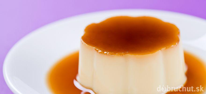 Karamelový krém - puding