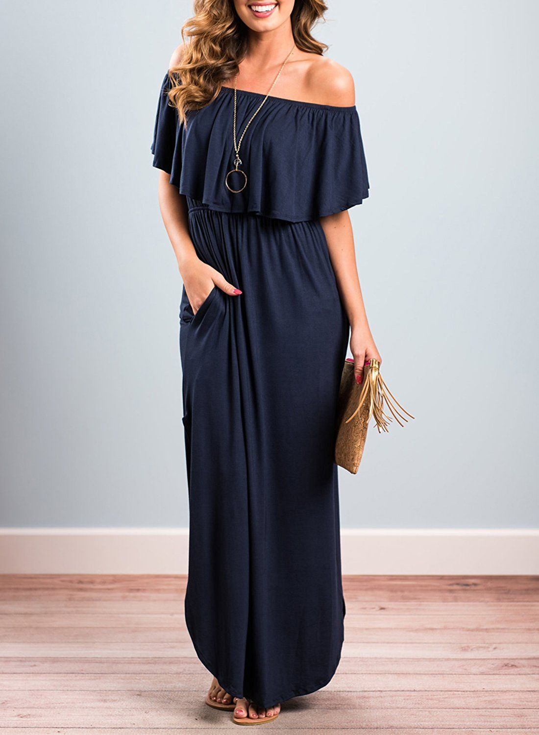 Best Fashionable Trending Casual Long Dress Lazy and Maxi