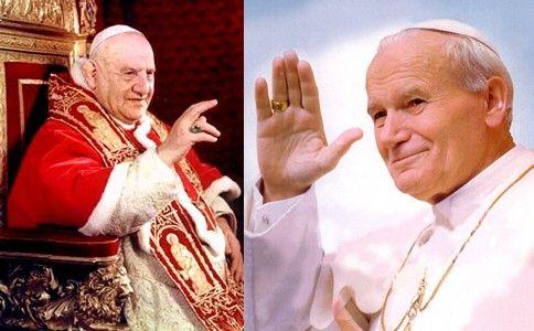 Os papas João Paulo II e João XXIII devem ser declarados santos em ...