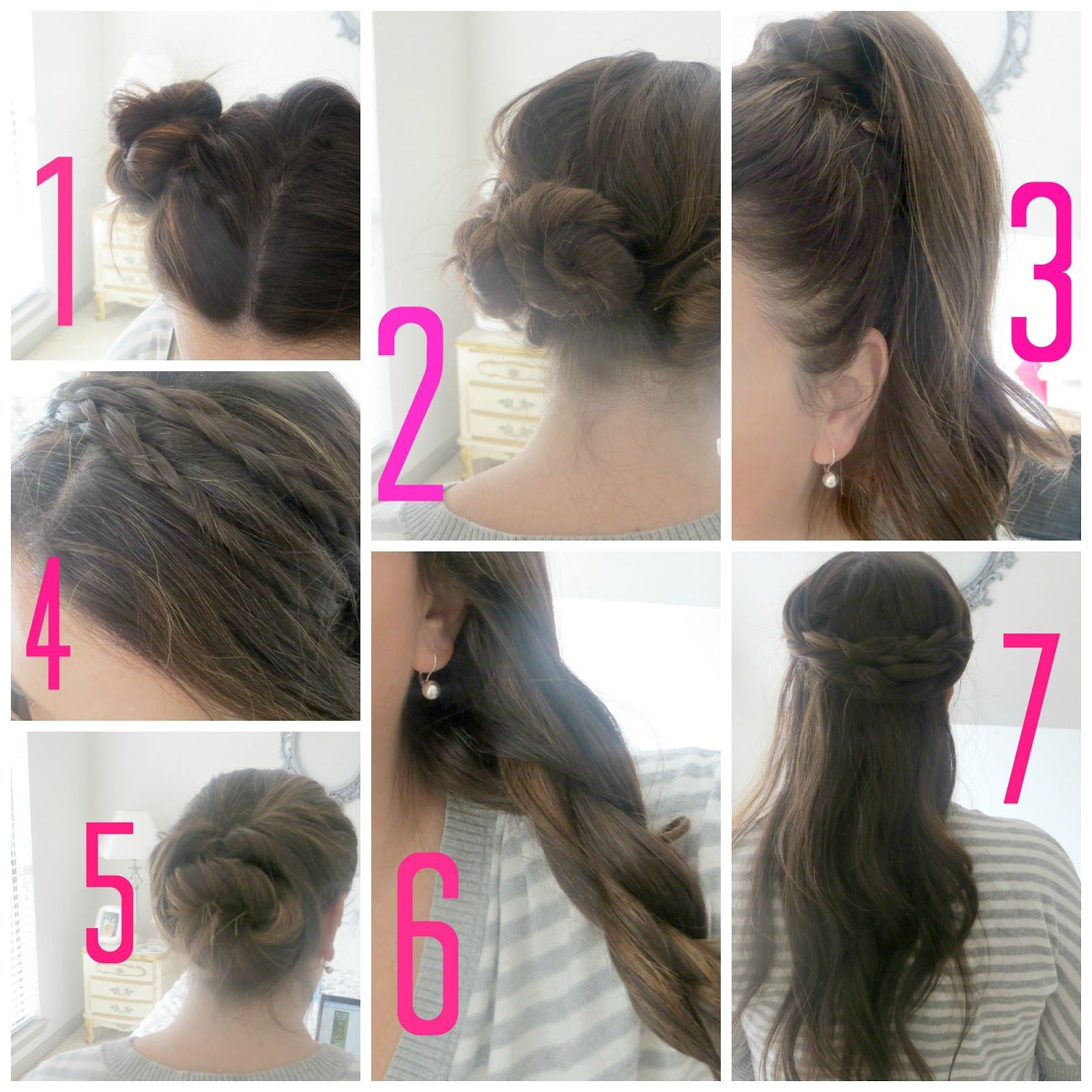 Stunning Quick Hairstyles For School Contemporary Styles & Ideas
