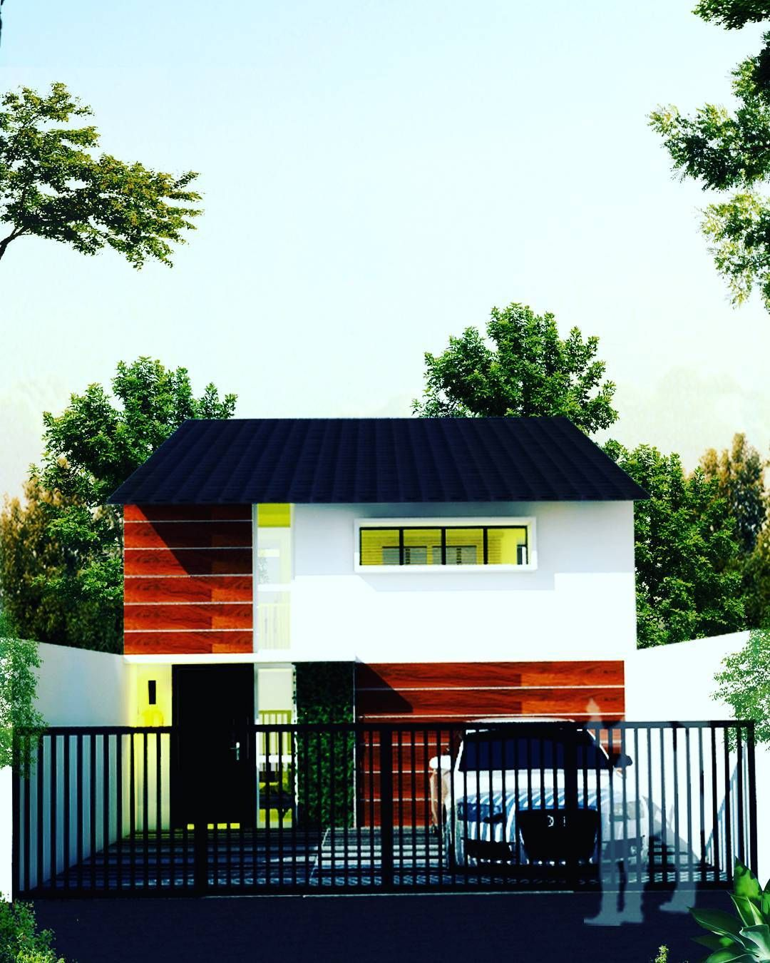 tiny house type 2 jakarta project small family architecture