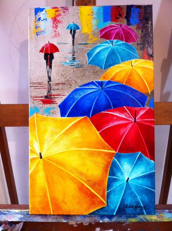 10 Simple And Easy Painting Ideas For Beginners In 2020 Small Canvas Art Mini Cute766