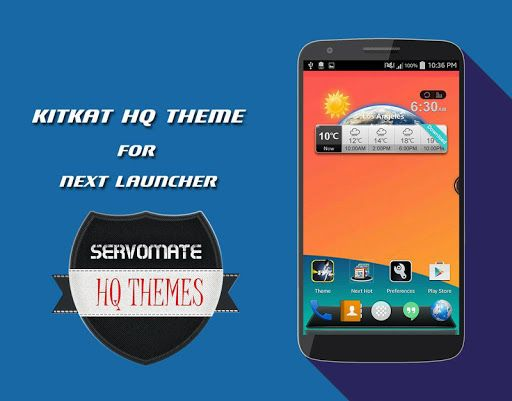 As per the user's request we have created theme support for Next launcher 3D & Next Launcher trail<p>****Installation Instruction of theme*****<p>1. Installing Next launcher as your home launcher ( if u don't have next launcher please download from Google play )<p>2. How to Apply Next theme:<p>(2D mode): After install > Click settings tab > personality > themes > installed theme > Kitkat Next launcher theme -Done<p>(3D mode): Мenu > Preferences > Switch to 3D scene mode < installed theme…