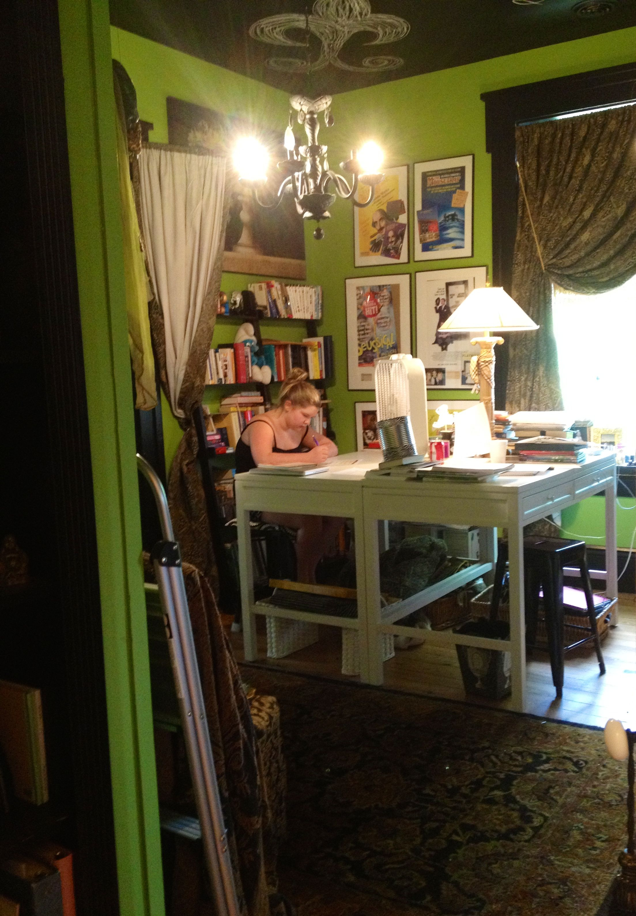 Stacie Webb-Keller Design Studio, my home office, Plantation House
