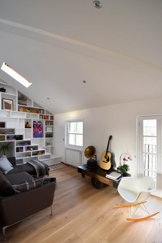 carve loft or studio space into rooms small apt design A small beautiful and liveable loft space carved out of an existing open  plan office.