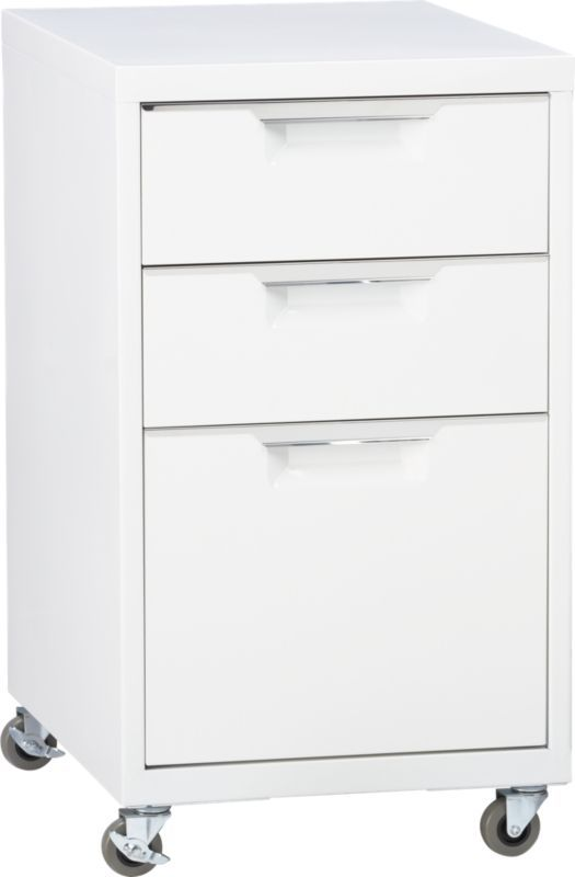 Tps White 3 Drawer Filing Cabinet Cb2 Filing Cabinet Drawer Filing Cabinet Buy Office Furniture