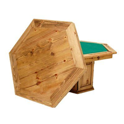 Million Dollar 11 8 Table Only Six Sided Rustic This