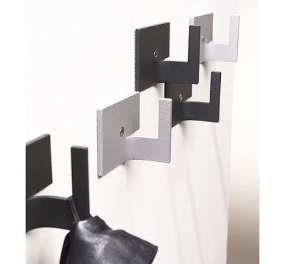 33 Cool Wall Hooks And Creative Wall Hook Designs Sheet Metal