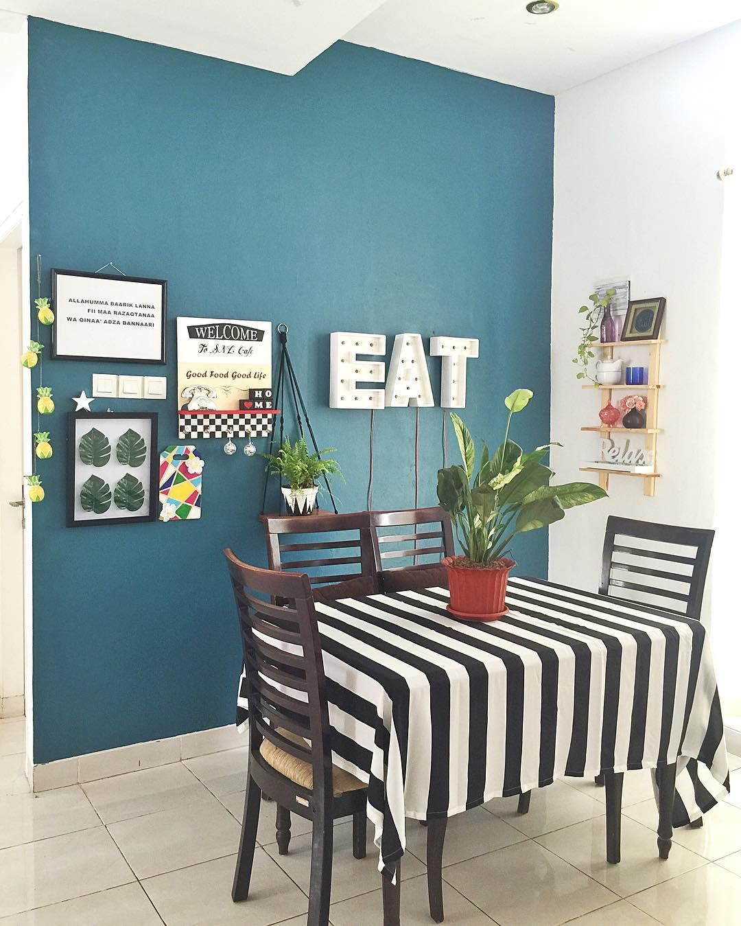 Desain Ruang Makan Minimalis Modern Menyatu Dengan Ruang