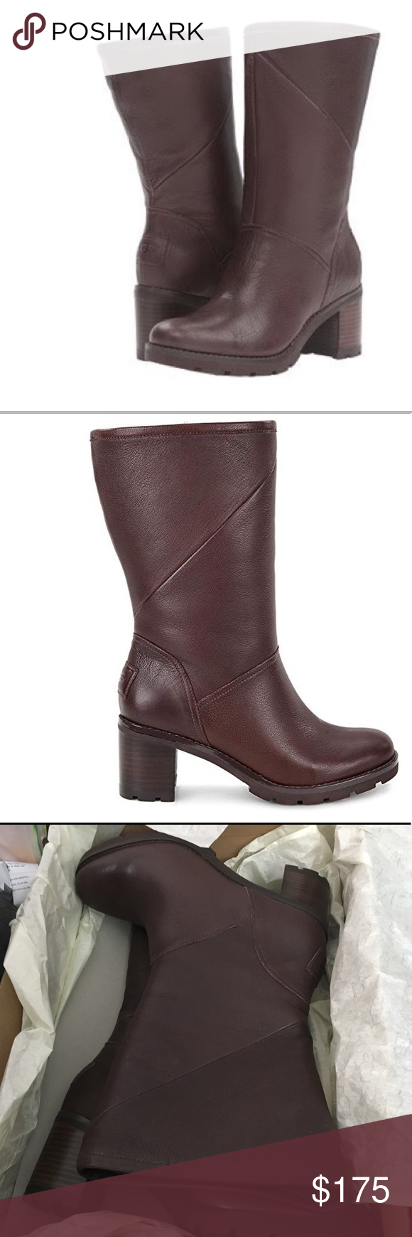 649f60edbe1 NIB UGG Jessia Boots in Stout, Size 10 NIB UGG Jessia Boots in Stout ...