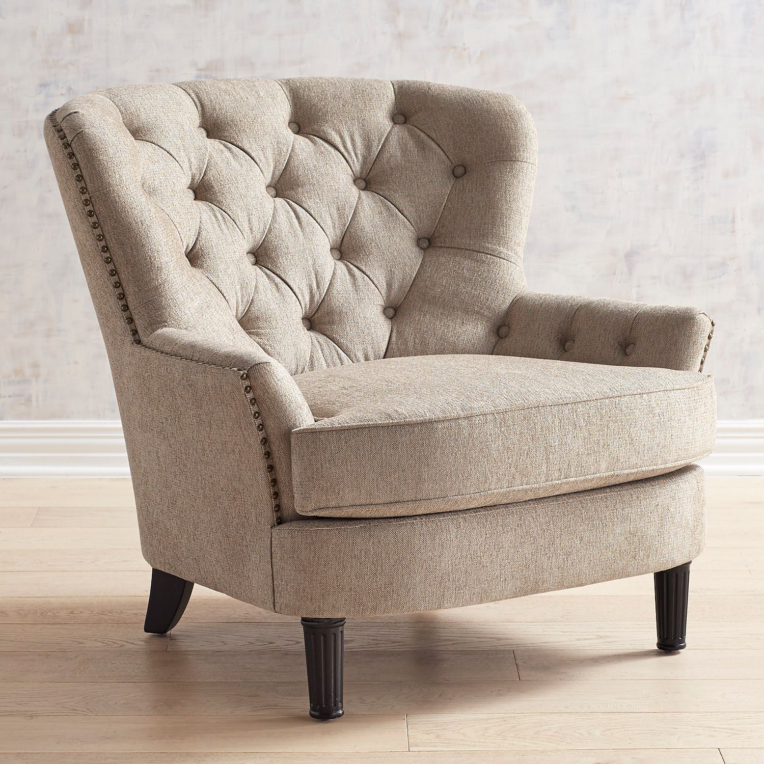 Eliza Oatmeal Armchair Pier 1 Armchair Retro Dining Chairs Cheap Living Room Sets Pier living room chairs