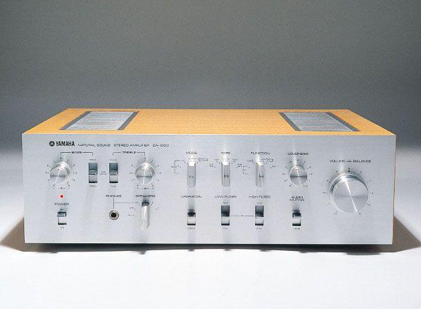 Yamaha Ca 1000 Stereo Amplifier 1973 Designed By Gk Design Group Retro Vintage Audio Equipment Yamaha Audio Hifi Yamaha