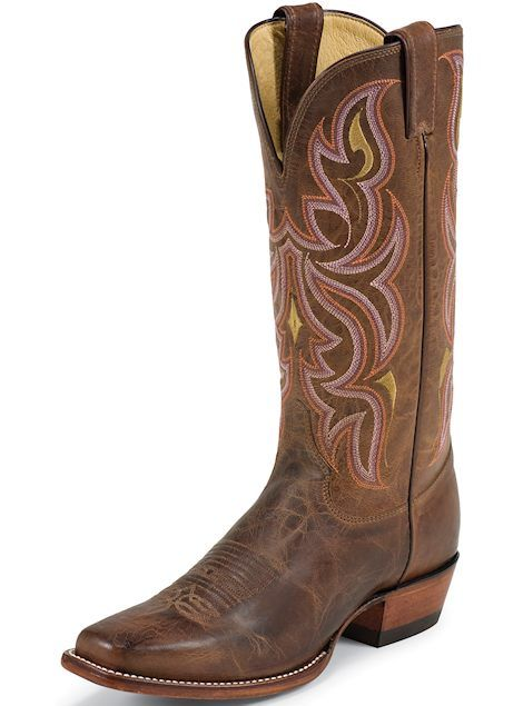 Justin Boots Punchy Collection L2687 Antique Brown, $218.00