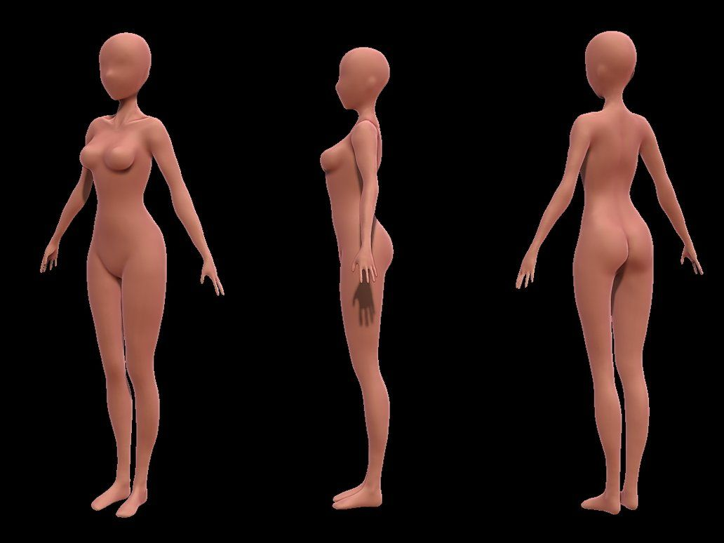 woman #anatomy #zbrush | Woman Anatomy 3D | Pinterest | ZBrush ...