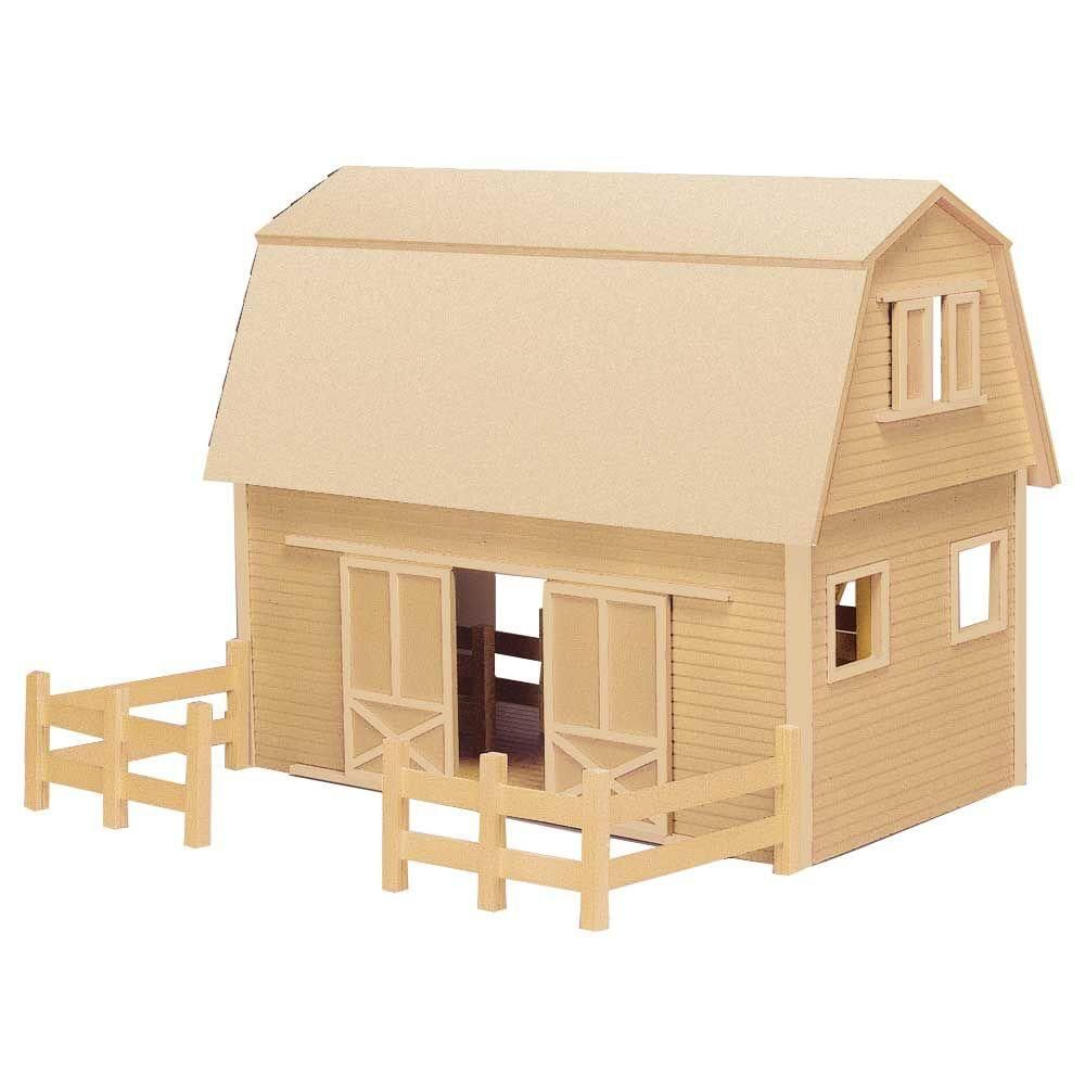 Houseworks Ruff N Rustic Barn Dollhouse Kit Products