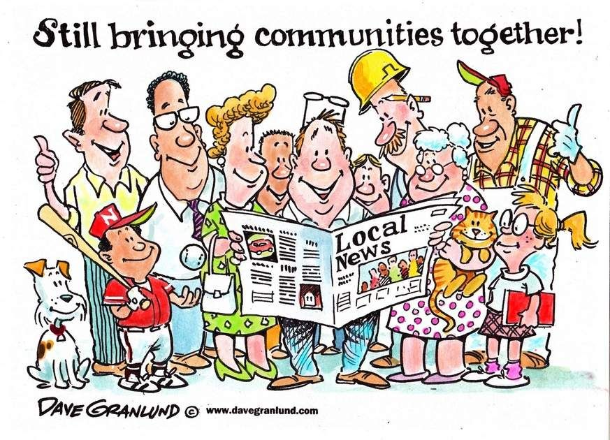 Dave Granlund cartoon on National Newspaper Week. http://www.uticaod.com/article/20141003/NEWS/141009789/2011/OPINION