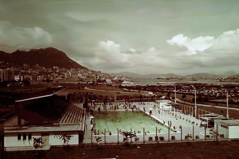 1961 Vic Park swimming pool