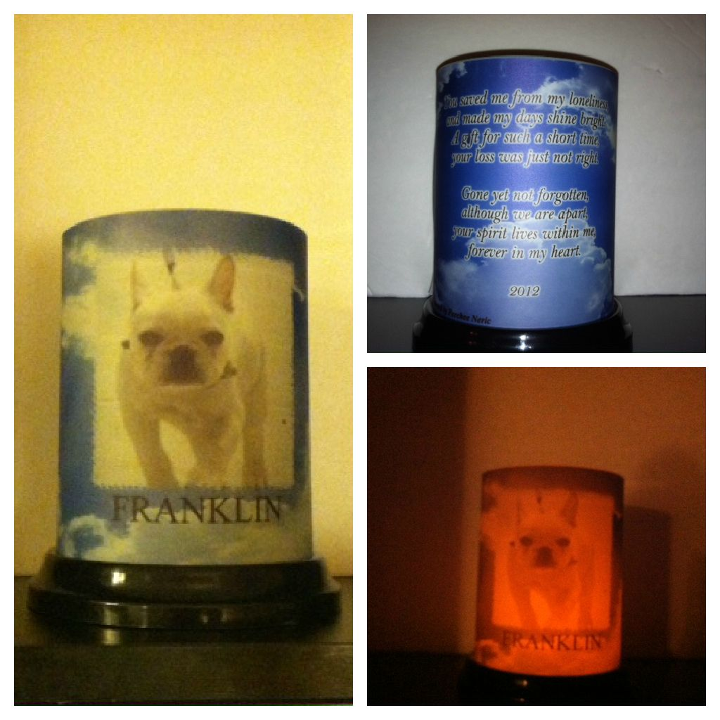 For Jeremy Renner - an In Memory of Franklin Candle