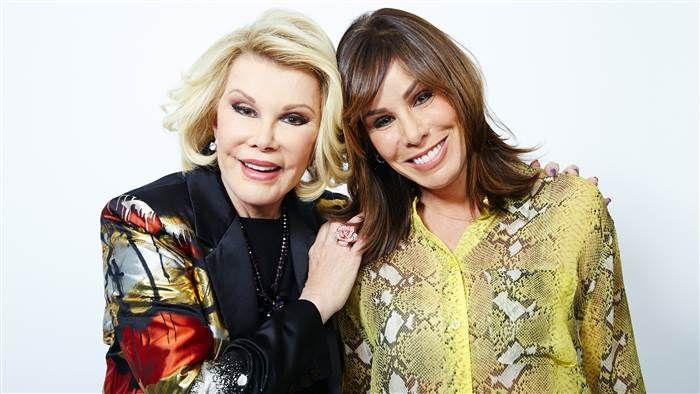 See Melissa Rivers play mom Joan in the film Joy