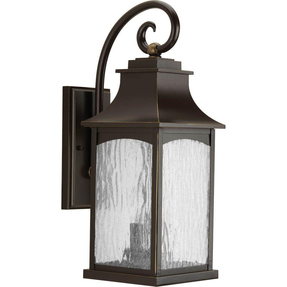 Maison Collection 2-Light Outdoor Oil Rubbed Bronze Wall Lantern ...