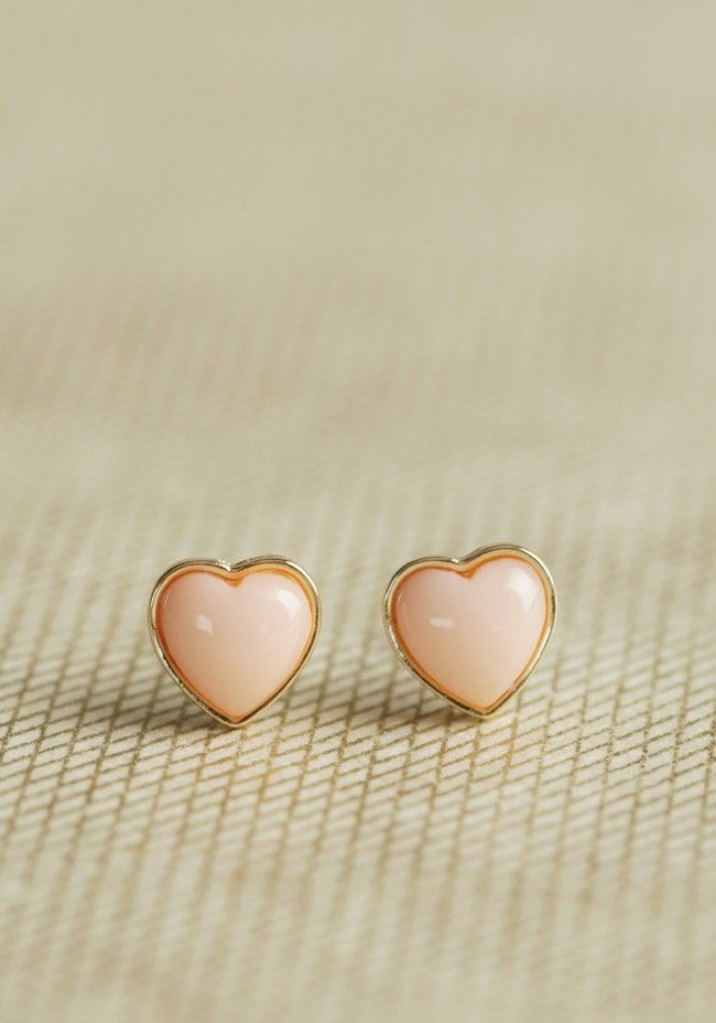 Sweet Side Heart Earrings