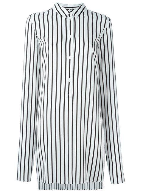 MCQ BY ALEXANDER MCQUEEN striped tunic. #mcqbyalexandermcqueen #cloth #tunic