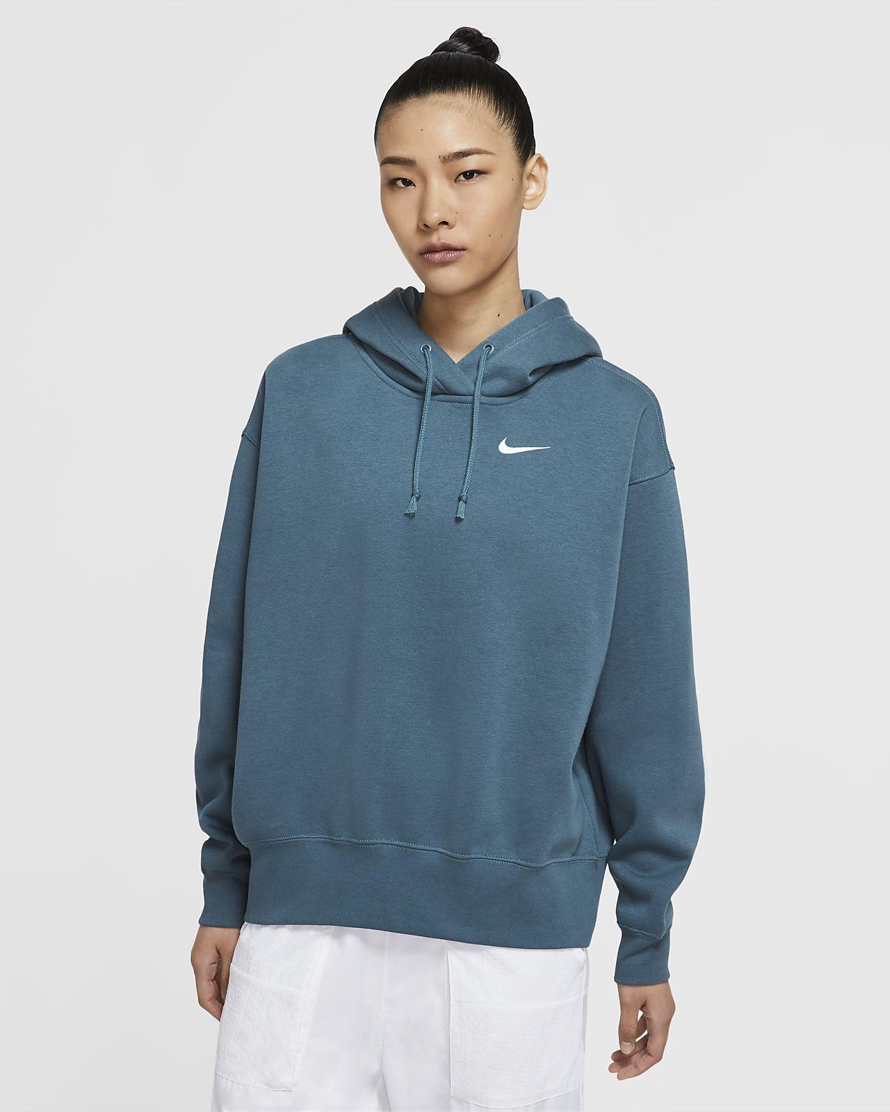 Nike Sportswear Women S Fleece Hoodie Nike Com Nike Hoodies For Women Nike Sportswear Women Womens Fleece [ 1600 x 1280 Pixel ]