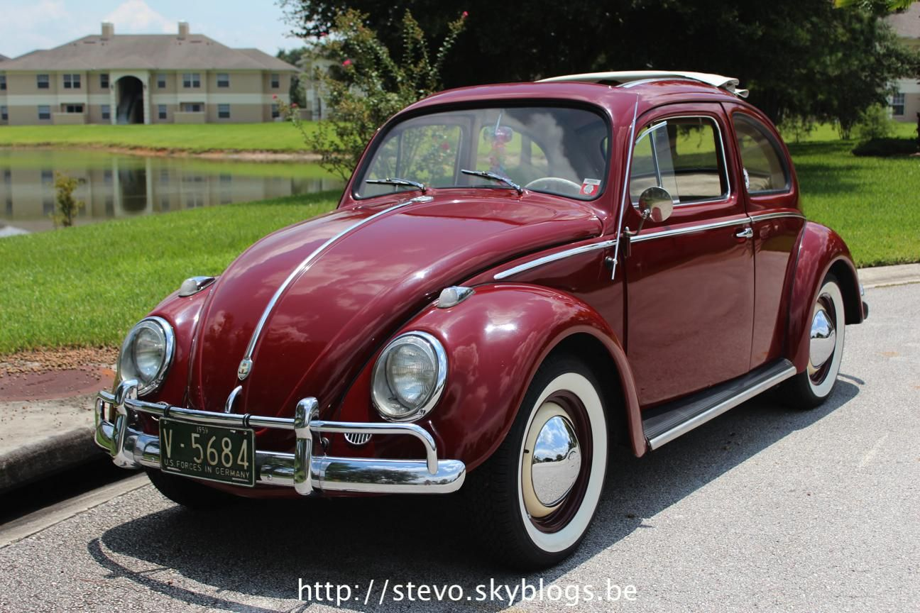 garnet red  ragtop vw kever vw red garnet vw beetles beetle