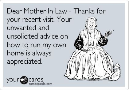funny mother in law quotes