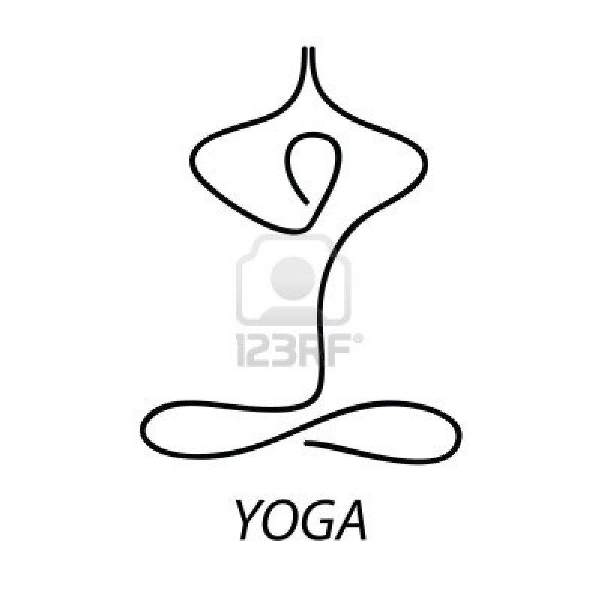 Yoga Sign Symbol The Lotus Posture Meditation Relax Crafts