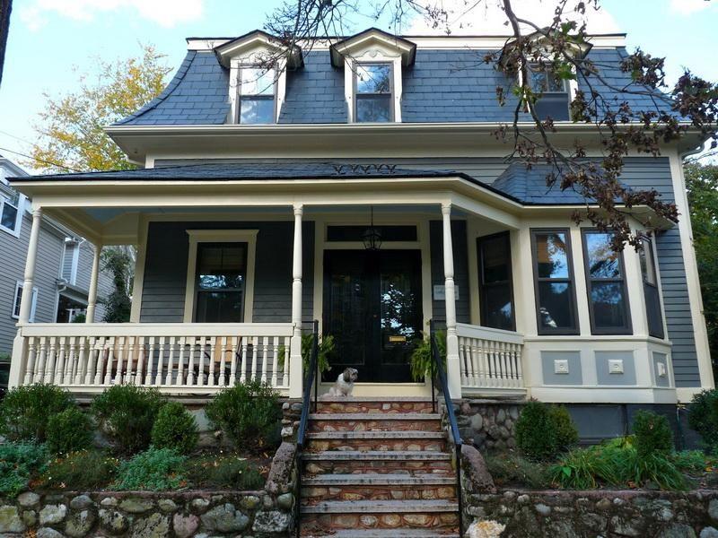 Blue Roof Color Exterior Paint Colors For House House Paint Exterior House Exterior