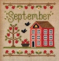 Country Cottage September Cottage - CCNSEP -  Leaflet - This pattern comes with instructions to complete the beautiful cross-stitch design!. SKU: .