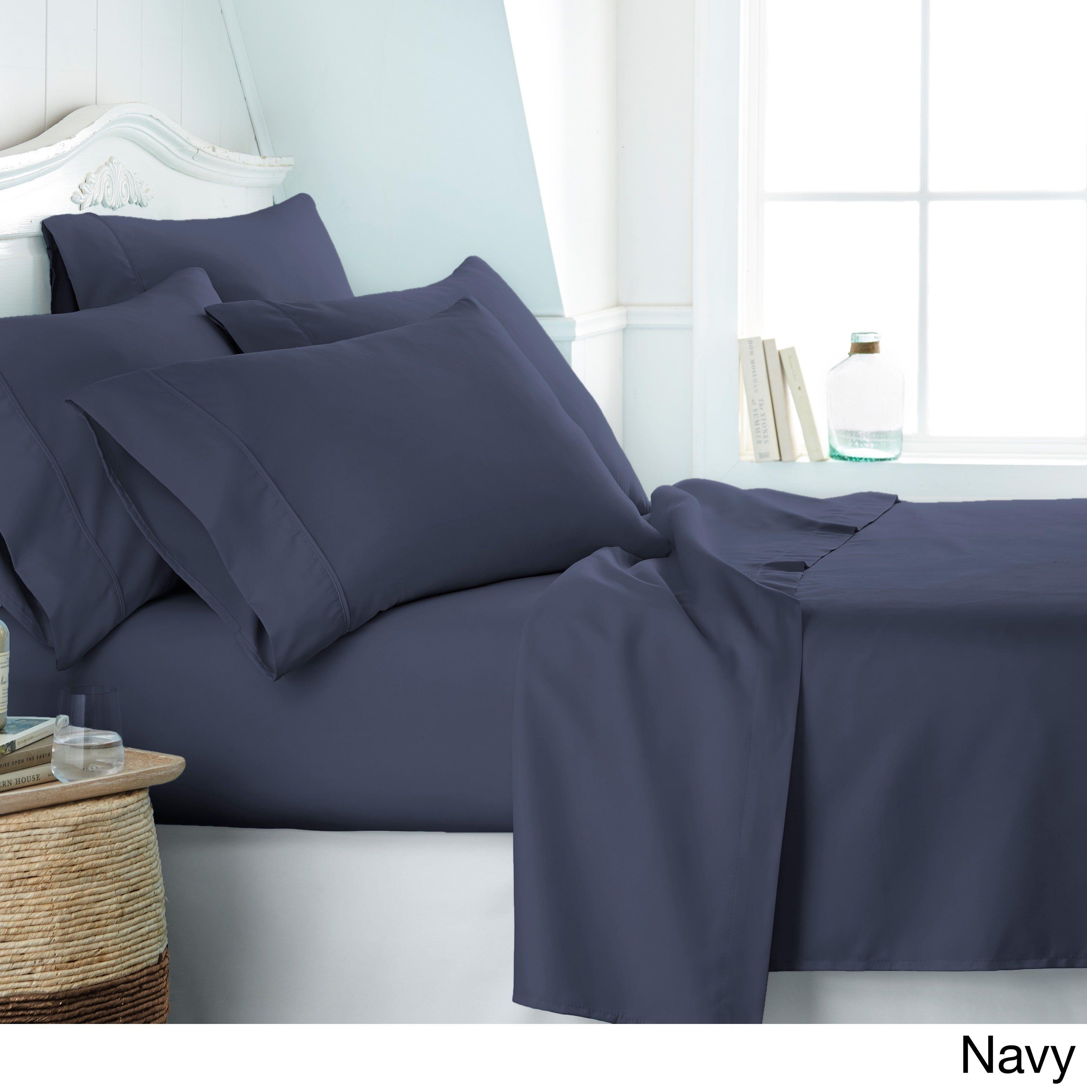 Soft Essentials Ultra Soft 3 Piece Or 5 Piece Deep Pocket Bed Sheet