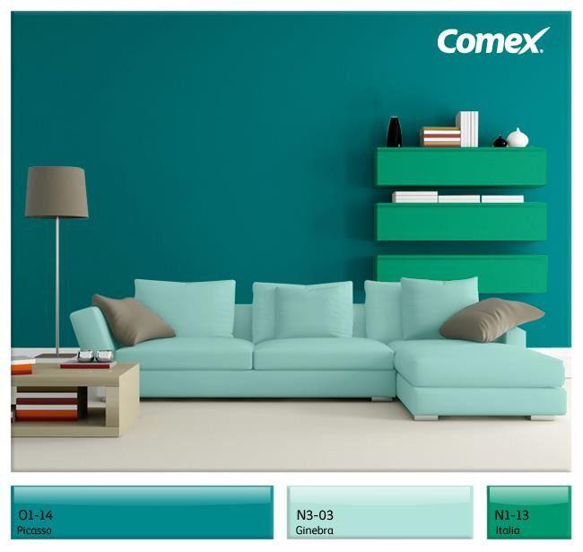 Muestrario de pinturas de espacios interiores buscar con - Gama de colores para interiores ...