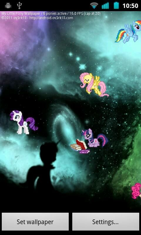 My Little Pony Live Wallpaper Download