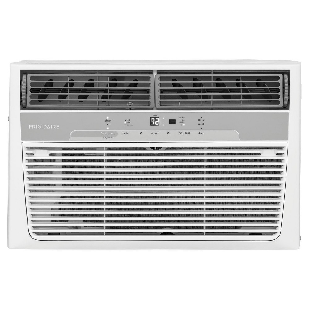 Frigidaire 8 000 Btu Cool Connect 115v Window Mounted Air Conditioner With Wi Fi Control White Room Air Conditioner Window Air Conditioner Air Conditioner