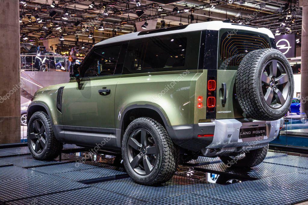 Frankfurt Germany Sept 2019 Silver Suv Landrover 2020 Defend Stock Ad Silver Sept Frankfurt Ge Land Rover New Land Rover Defender New Defender