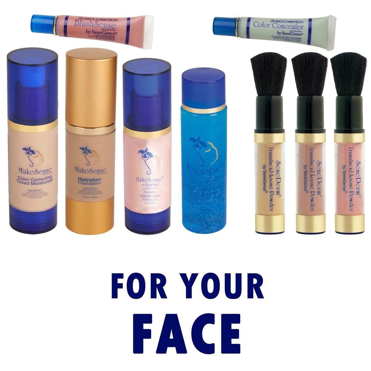 Kosher facial make products