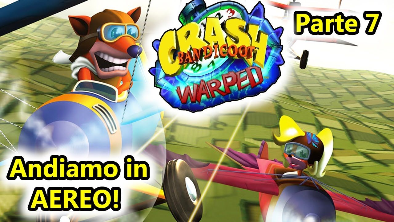 crash bandicoot 3 warped andiamo in aereo psx android salvo
