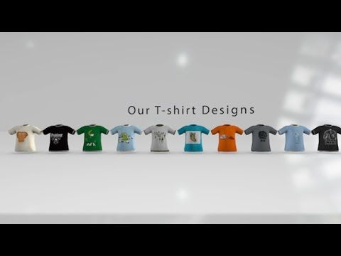 shirt presentation pack e3d | after effects template | after, Presentation templates
