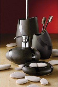 Bon Stone Moka Bathroom Accessories Contemporary Bath And Spa Accessories