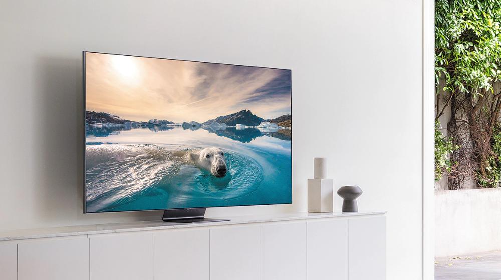 65 Class Q90t Qled 4k Uhd Hdr Smart Tv 2020 Tvs Qn65q90tafxza Samsung Us In 2020 Smart Tv Samsung Smart Tv 4k Tv