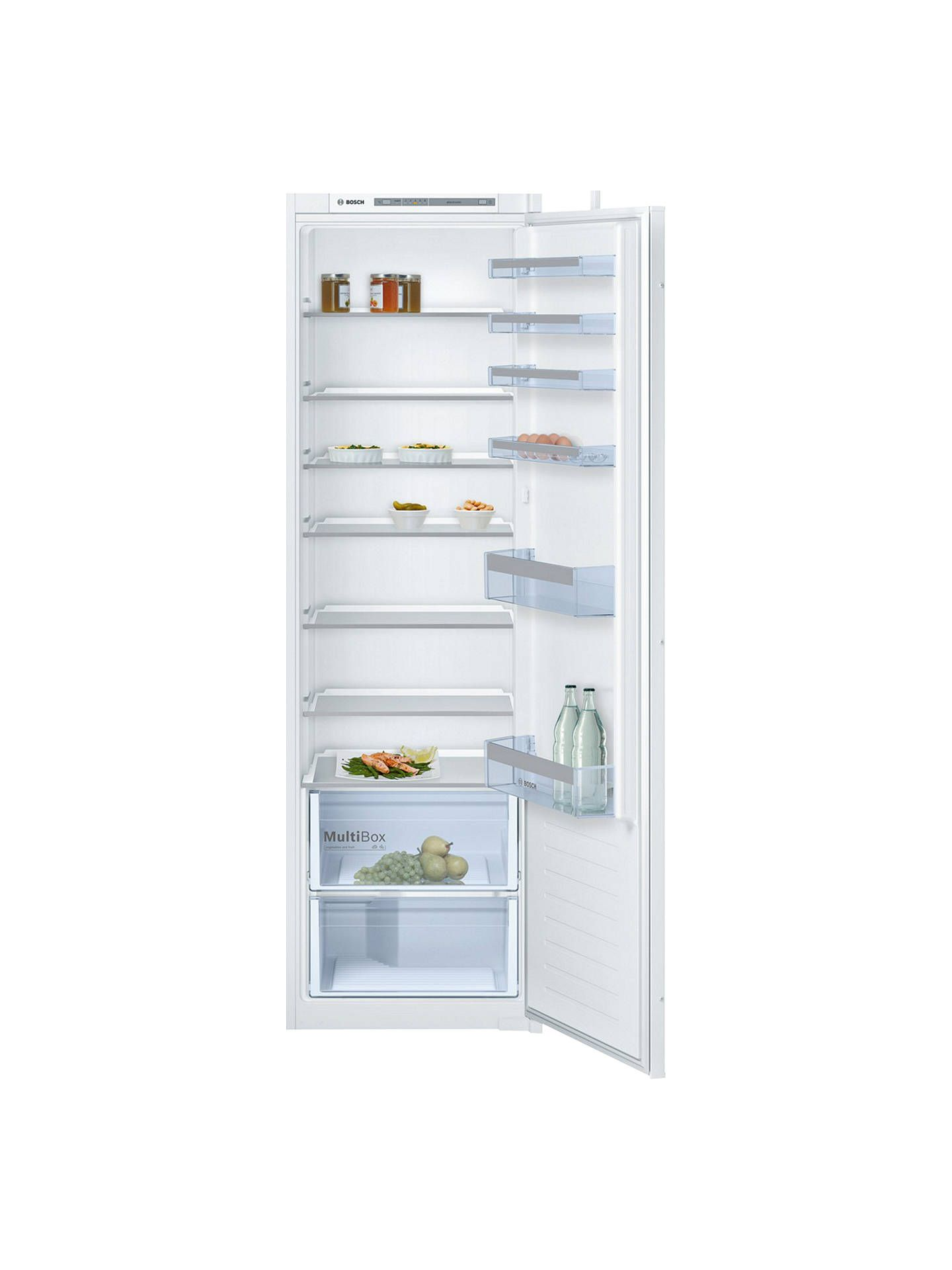Einbaukühlschrank 122 Cm Bosch Kir81vs30g Integrated Larder Fridge A Energy Rating 54 1