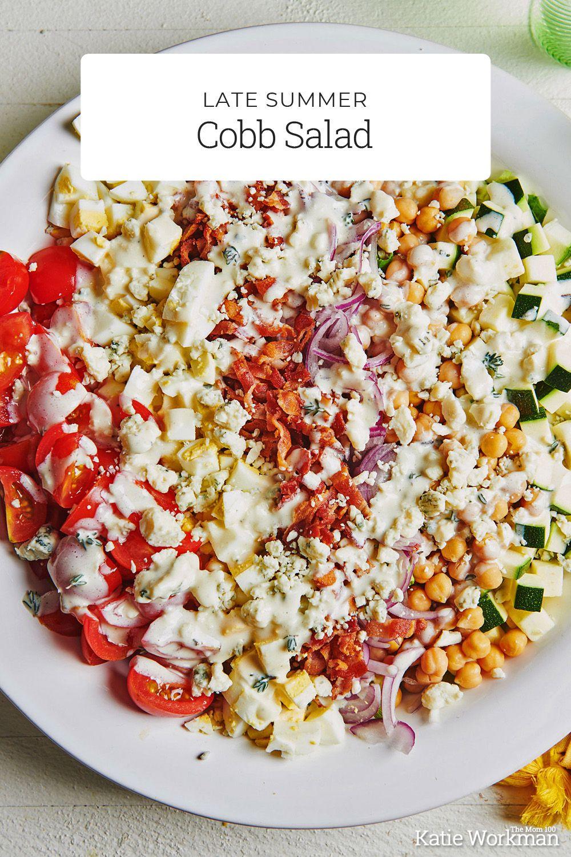 Late Summer Cobb Salad Recipe In 2020 Cobb Salad Recipe Cobb Salad Easy Salads