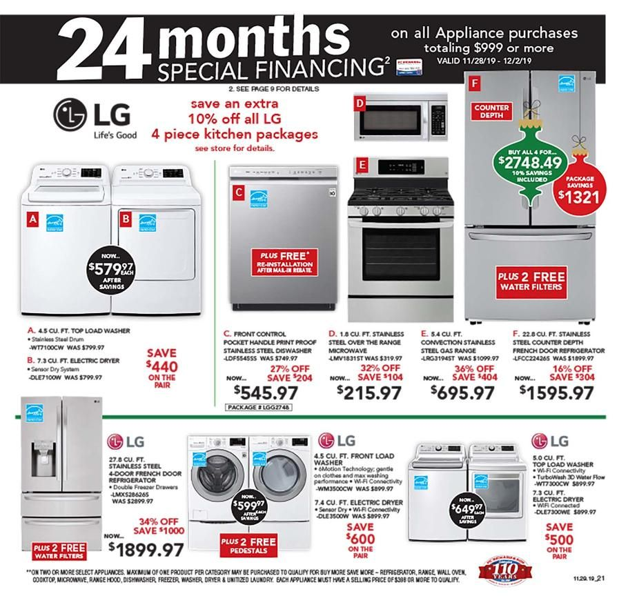 P C Richard Son Black Friday Ad Scan Deals And Sales 2019